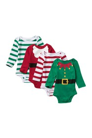 koala baby Christmas Bodysuit - Pack of 4 (Baby Bo