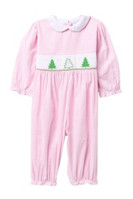 Carriage Boutique Checkered Christmas Tree Romper