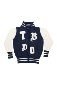 Toobydoo Full Zip Sweater (Toddler & Little Boys)