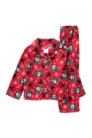 AME Micky Mouse Holiday Pajama Set (Toddler Boys)