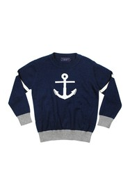 Toobydoo Crew Neck Sweater (Baby & Toddler Boys)