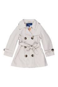Toobydoo Double Breasted Coat (Little Girls)
