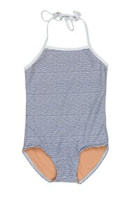 Toobydoo Print One-Piece Swimsuit (Toddler & Littl