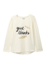Harper Canyon Long Sleeve Graphic Tee (Toddler