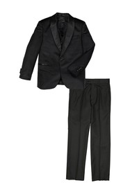 Isaac Mizrahi Tuxedo Suit 3-Piece Set (Toddler
