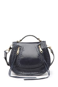 Rebecca Minkoff Small Vanity Leather Saddle Bag