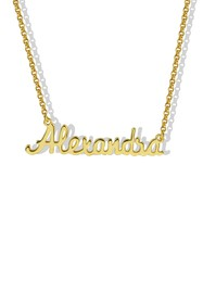 Argento Vivo 18K Gold Plated Sterling Silver Perso