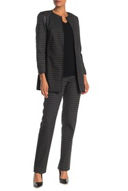 Lafayette 148 New York Wool Blend Ankle Pants