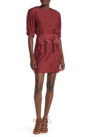 Rebecca Minkoff Juno Short Belted Dress