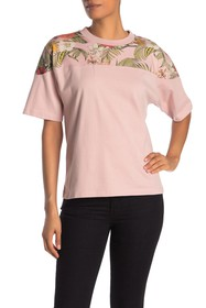 Rebecca Minkoff Tropical Lulu Paneled T-Shirt