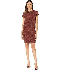 Kenneth Cole New York Ruched Knit Dress