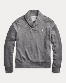 Polo Ralph Lauren Luxury Jersey Shawl Pullover