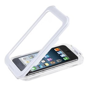 White Waterproof Phone Case Dirt Proof Durable Pro