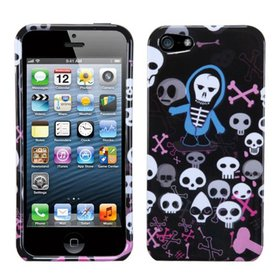 Insten Swag Skulls Phone Case for Apple iPhone SE