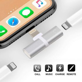 Aux Audio & Charging for iPhone XS MAX Adapter, 2