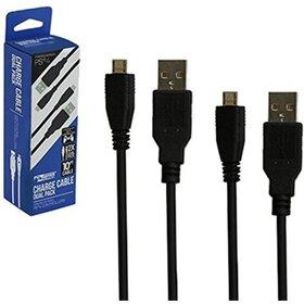 KMD 10FT Controller USB Charge Cable Duak Pack for