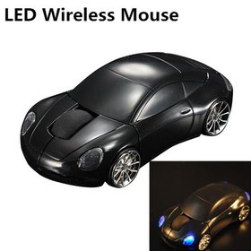 USB Wireless Optical Mouse 2.4GHz 1600DPI 3D Car S