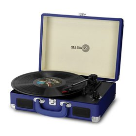 Record Player 3-Speed Stereo Turntable With Playin