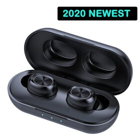 2020 True Wireless Earbuds Bluetooth 5.0 Earphones