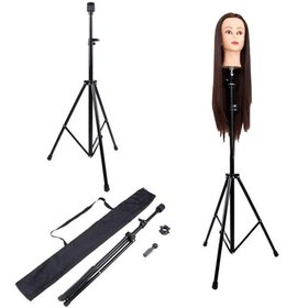 Dilwe Adjustable Tripod Stand Holder Mannequin Hea