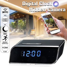 Hidden Camera, Wireless Clock Nanny Cam HD Home Se