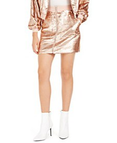 Becca Tilley x Sequin Utility Skirt, Created For M