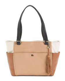 THE SAK Ashby Color Block Leather Tote