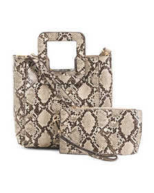 FFC NEW YORK Medium Anabel Tote With Detachable Po