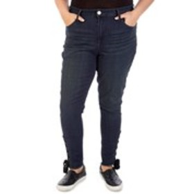 SEVEN 7 Plus Size Ultra High Rise Skinny jeans wit