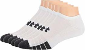 Under Armour Performance Tech No Show Socks 6-Pair