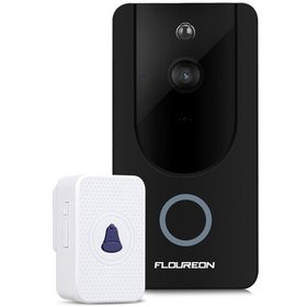 FLOUREON WiFi Wireless Smart Video Doorbell with 7