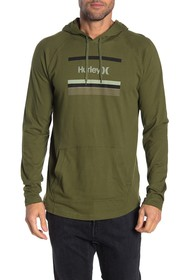 Hurley Front Graphic Drawstring Hoodie