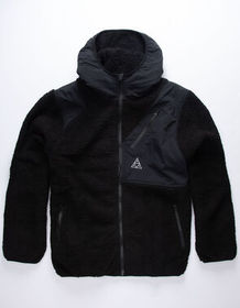 HUF Aurora Tech Black Mens Jacket_