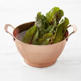 Williams Sonoma Copper Colander