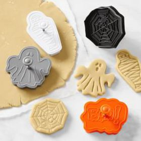 Halloween Impression Cookie Stamps, Set of 4