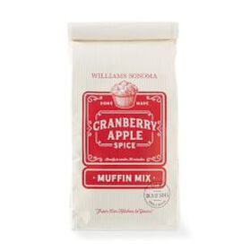 Williams Sonoma Muffin Mix, Apple Cranberry Spice
