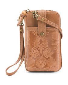 THE SAK Iris Smart Phone Leather Crossbody