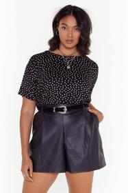 Nasty Gal Black You've Dot Another Thing Coming Pl