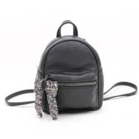 Chateau Mini Backpack with Boucle Bow