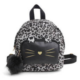 Chateau Leopard Kitty Backpack