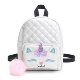 Chateau CATicorn Face Appliqué Backpack