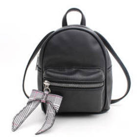 Chateau Mini Backpack with Plaid Bow