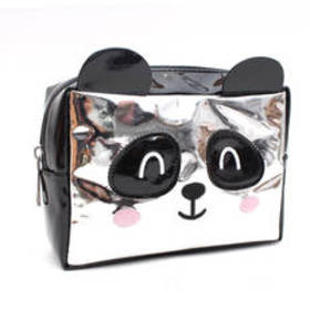 Chateau Panda Critter Hologram Cosmetic Bag