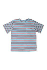 Toobydoo Stripe Print T-Shirt (Toddler