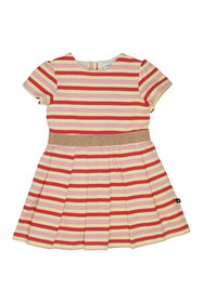 Toobydoo Stripe Print Dress (Toddler & Little Girl