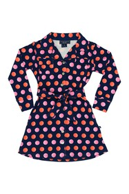 Toobydoo Juicy Dots Shirt Dress (Toddler