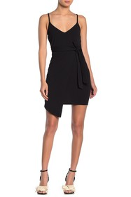 KENEDIK Waist Tie Mini Dress