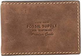Fossil Russell Wallet w/ Money Clip