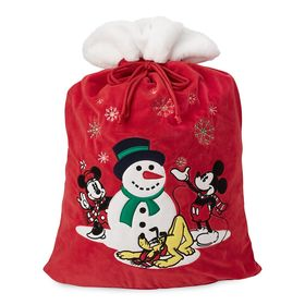 Disney Mickey Mouse and Friends Plush Santa Sack –