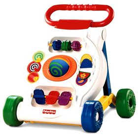 Fisher-Price Bright Beginnings Activity Walker, In